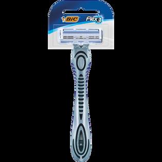 Bic_Flex3_jednoczęściowa 3 ostrzowa maszynka do golenia, 1 szt._1