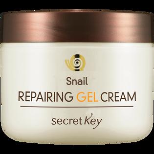 Secret Key_Snail Repairing_chłodzący żelowy krem ze śluzem ślimaka do twarzy, 50 g_1
