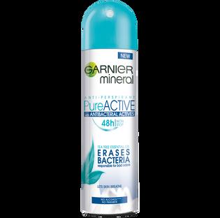Garnier_Mineral Pure Active_antyperspirant damski w sprayu, 150 ml