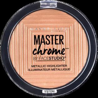 Maybelline_Master Chrome_rozświetlacz w kamieniu do twarzy molten gold 100, 8 g