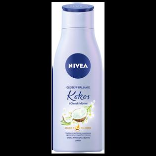 Nivea_Kokos i Olejek Monoi_nawilżający olejek do ciała w balsamie, 200 ml