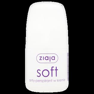 Ziaja_Soft_antyperspirant damski w kulce, 60 ml