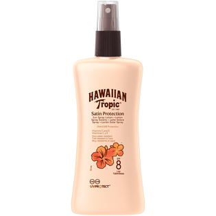 Hawaiian Tropic_Satin Protection_olejek do opalania w sprayu, 200 ml