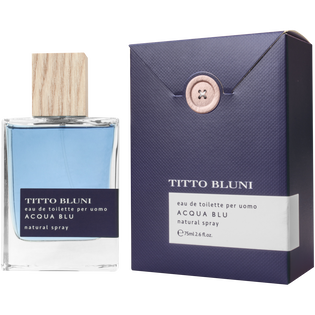 Titto Bluni_Acqua Blu_woda toaletowa męska, 75 ml