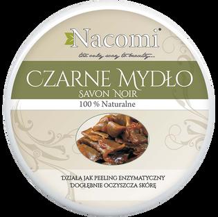 Nacomi_mydło czarne - peeling enzymatyczny do twarzy, 200 ML