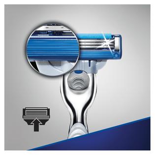 Gillette_Mach3 Turbo_maszynka do golenia męska, 1 szt., wkłady, 2 szt./1 opak._2