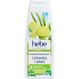 Hebe Cosmetics_Limonka i aloes_żel pod prysznic, 250 ml