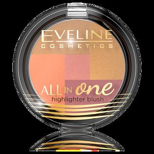 Eveline_All In One_rozświetlający róż do policzków 3, 6 g