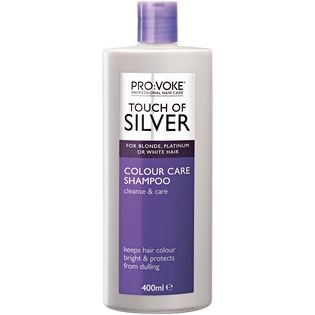 Provoke_Touch of Silver_szampon do włosów w chłodnych odcieniach blondu, 400 ml