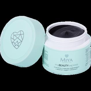 Miya Cosmetics_3-minutowa maseczka do twarzy wygładzająca z aktywnym węglem kokosowym, 50 g_2