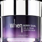 When Berry Dual Gel & Cream Sleeping
