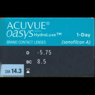 Acuvue_Oasys 1-Day_soczewki, moc -5.75, 1 opak.