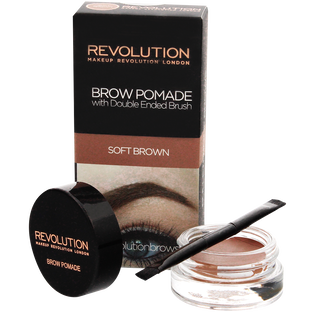 Revolution Makeup_Brown Pomade_pomada do stylizacji brwi soft rown, 8 g