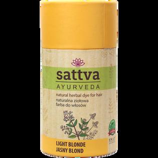 Sattva_Jasny blond_naturalna ziołowa farba do włosów, 150 g
