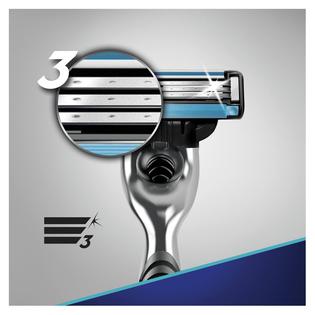Gillette_Mach 3_maszynka do golenia męska, 1 szt.+3 szt. wkłady/1 opak._2
