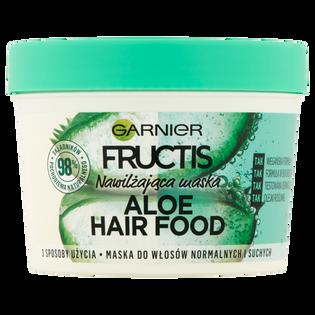 Garnier Fructis_Aloe Hair Food_maska do włosów normalnych i suchych, 390 ml