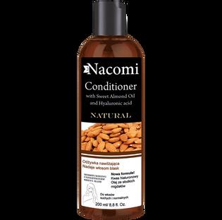 Nacomi_odżywka do włosów z olejem ze słodkich migdałów, 200 ml