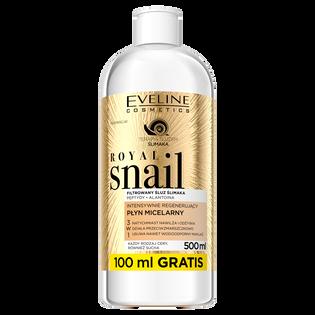 Eveline_Royal Snail_płyn micelarny do twarzy, 500 ml