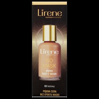 Lirene_No Mask_podkład i serum do twarzy beżowy 03, 30 ml
