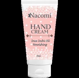 Nacomi_Inca Inchi Oil Nourishing_odżywczy krem do rąk o zapachu maliny, 85 ML
