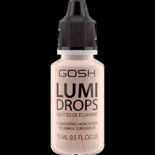 Gosh_Lumi Drops_rozświetlacz w płynie vanilla 002, 15 ml