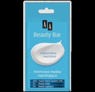 AA_Beauty Bar_kremowa maska nawilżająca do twarzy, 8 ml