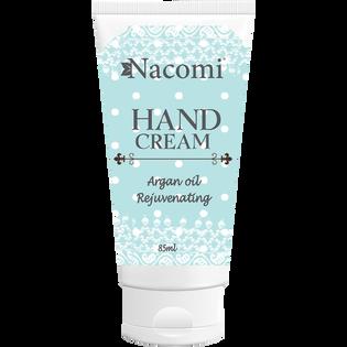 Nacomi_Argan Oil Rejuverating_naturalny krem do rąk nawilżający i regenerujący, 85 ml
