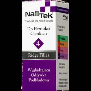 Nail Tek_Ridge Filler Foundation 4 Xtra_wygładzająca odżywka podkładowa do paznokci cienkich, 15 ml_2