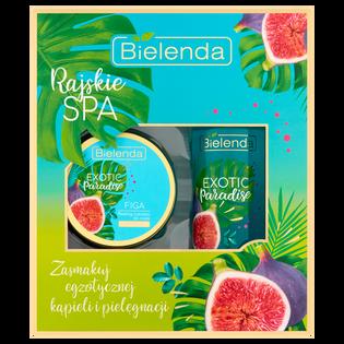 Bielenda_Exotic Paradise_zestaw: peeling do ciała, 350 g + olejek do kąpieli, 400 ml