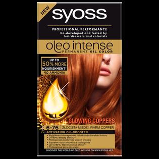 Syoss_Oleo Intense_farba do włosów 6-76 złocista miedź, 1 opak.