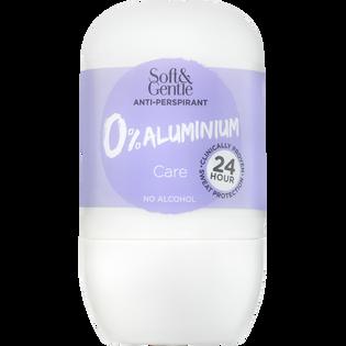 Soft And Gentle_Bez Aluminium_antyperspirant w kulce bez aluminium o delikatnym, świeżym zapachu wody kokosowej, 50 ml