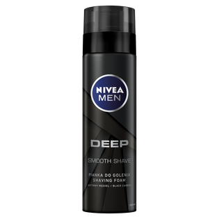Nivea Men_Deep_pianka do golenia z aktywnym węglem, 200 ml
