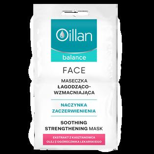 Oillan_Balance_łagodząco wzmacniająca maska do twarzy, 10 ml