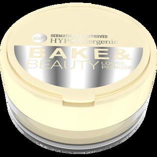 Bell_Bake & Beauty Loose_sypki puder upiększający do bakingu 001, 4,3 g