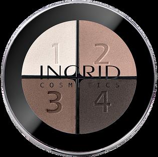 Ingrid_Smoky_paleta cieni do powiek 116, 7 g
