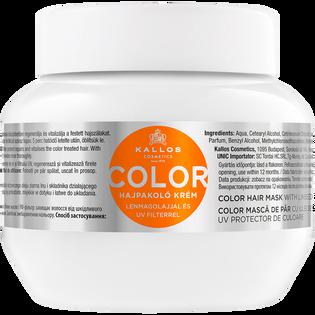Kallos_Color_maska do włosów farbowanych z filtrem UV, 275 ml
