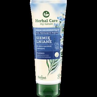 Herbal Care_Siemię Lniane_krem na pękające pięty siemię lniane, 100 ml