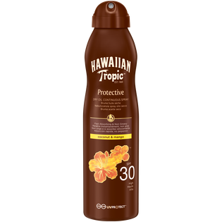 Hawaiian Tropic_Protective_olejek do opalania w sprayu SPF 30, 177 ml