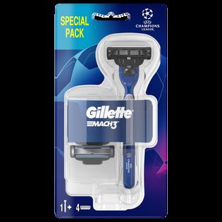Gillette_Mach 3_maszynka do golenia męska, 1 szt. + wkład, 3 szt./1 opak._1