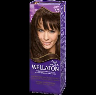 Wella_Wellaton_krem koloryzujący do włosów 5/0 jasny brąz, 1 opak.