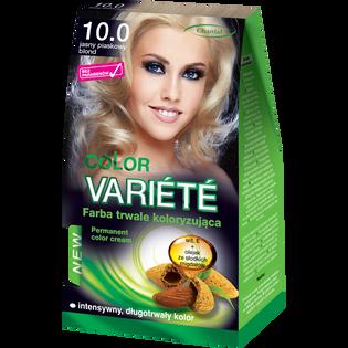 Color Variete_Jasny piaskowy blond_farba do włosów 10.0 jasny piaskowy blond, 1 opak.