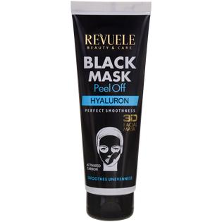 Revuele_Black Mask Peel Off Hyaluron_maska do twarzy, 80 ml_1