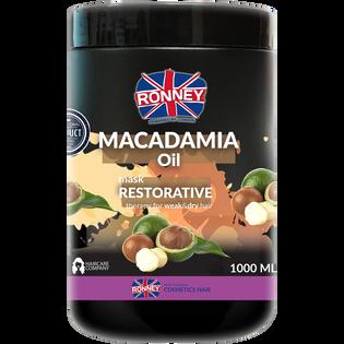 Ronney_Macadamia Oil_wzmacniająca maska do włosów, 1000 ml
