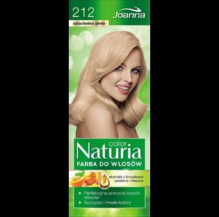 Joanna_Naturia Color_farba do włosów 212 szlachetna perła, 1 opak.