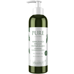 Pure By Clochee_nawilżająca emulsja do demakijażu, 200 ml