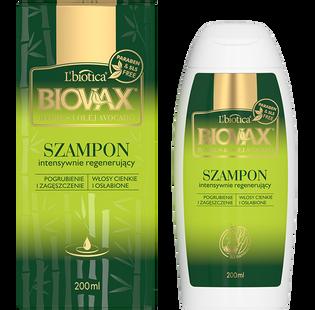 L'Biotica_Biovax_pogrubiający i zagęszczający szampon do włosów z bambusem i olejkiem z awokado, 200 ml