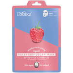L'Biotica Raspberry Vegan Mask
