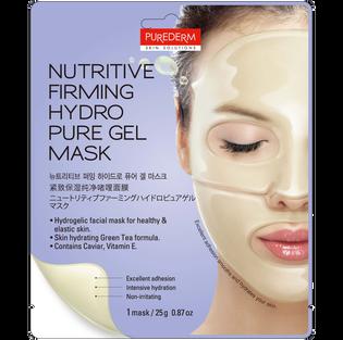 Purederm_Nutritive Firming Hydro Pure Gel Mask_żelowa ujędrniająca maska do twarzy, 25 g
