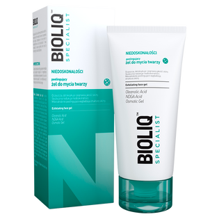 Bioliq_Specialist_peelingujący żel o mycia twarzy do skóry tłustej i mieszanej, 125 ml