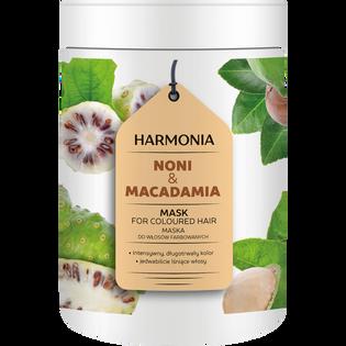 Harmonia_Noni & Macadamia_maska do włosów farbowanych, 1000 g